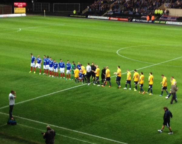 Oxford United vs Portsmouth FC
